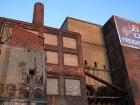 Старое промышленное здание в Нью-Йорке